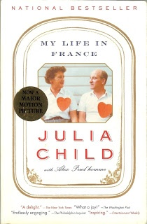 Julia Child. I loved this book.MY LIFE IN PARIS
