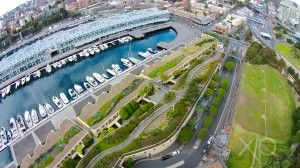 While many see Woolloomooloo by foot or boat, explore the stunning views from up in the air.
