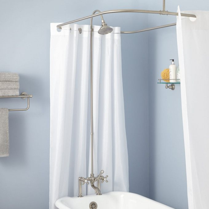 Clawfoot Tub To Shower Conversion Kits Signature Hardware Tub