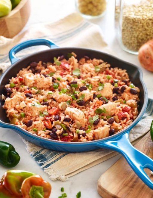 One Skillet Savory Ranch Chicken Recipe In 2018 Dad Foods