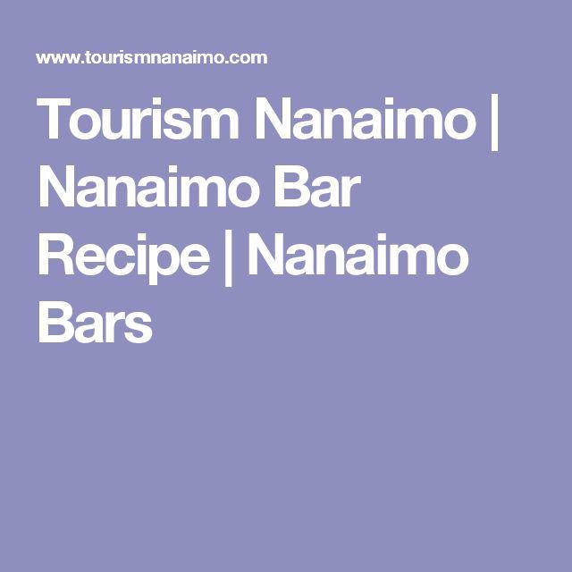 Tourism Nanaimo | Nanaimo Bar Recipe | Nanaimo Bars