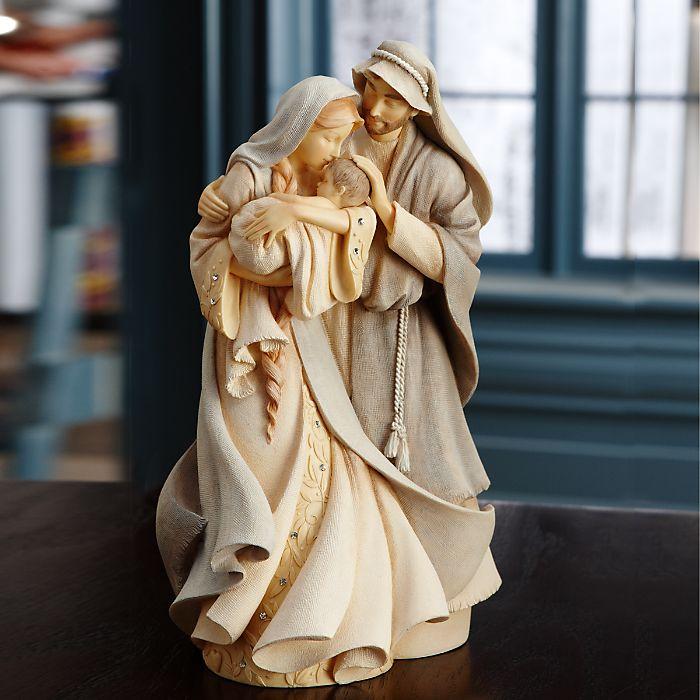 Enesco Foundations Holy Family Figurine for Lenox