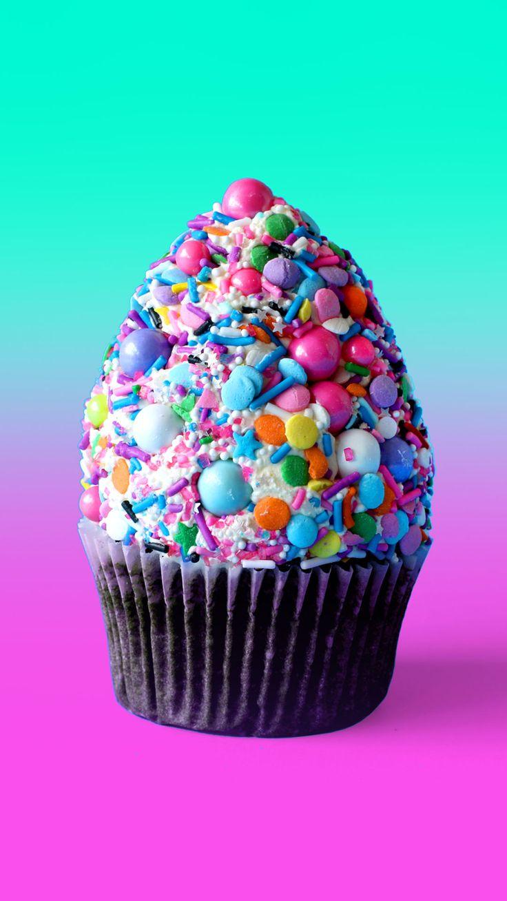 Funfetti Mounatin Cupcakes