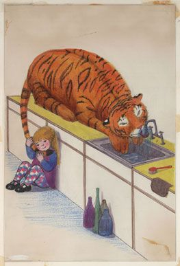 From The Tiger Who Came to Tea   to Mog and Pink Rabbit 28 May - 4 September 2011 at Museum of Childhood