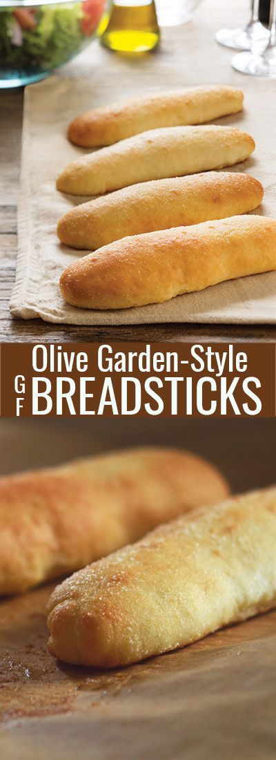 These soft gluten free breadsticks are a homemade version of the famous Olive Garden breadsticks. Fluffy and soft inside, with a thin, almost crispy layer outside, and covered in garlic butter.