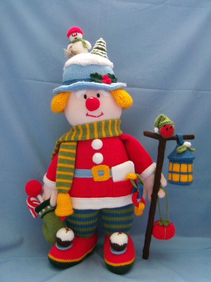 Jolly Mr Jingle Pattern From Jean Greenhowe Celebration