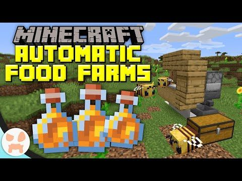 3 Easy Automatic Food Farms! - YouTube | Minecraft ...