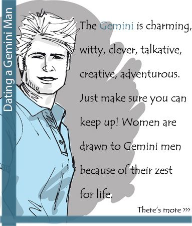 How to date a gemini man
