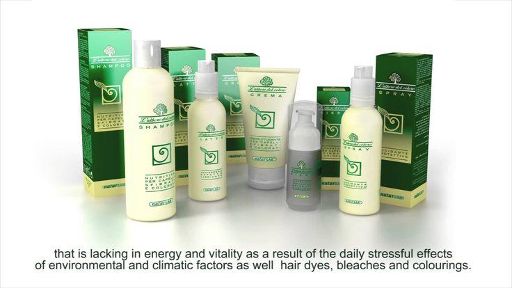 """Linea Nutrizione  """"L'Albero del Colore"""" /  Rivitalizing Hair products - ..."""