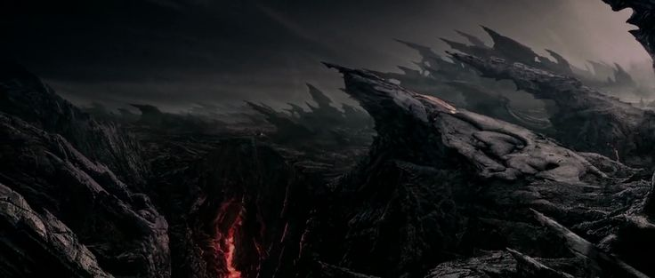 Chronicles of Riddick. Planet Crematoria