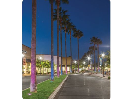 The palms that line the roadways at River Park mall easily change to fit any season or mood with the HP2 Series™ fixtures with Power of C color tuning.  sc 1 st  Pinterest & 21 best Landscape Lighting Design images on Pinterest | Landscape ... azcodes.com