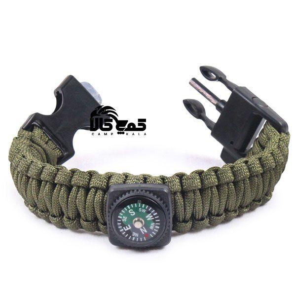 دستبند پاراکورد قطب نما و آتشزنه دار با خرید دستبند پاراکورد قطب نما و آتشزنه دار از کمپ کالا مشتری دائم ما خواهید شد کمپ Bracelet Watch Accessories Bracelets