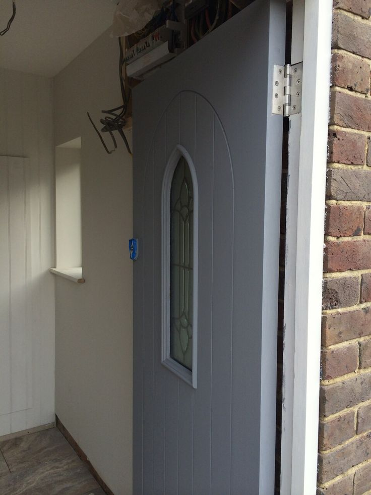 Front Door - Dulux Base Coat
