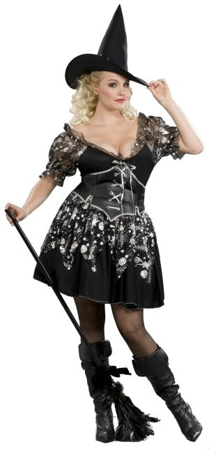 Charm Witch Adult Plus Sized Costume