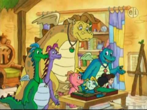 Dragon Tales: Cassie the Green Eyed Dragon