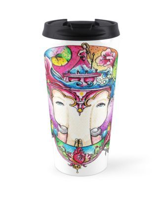 Enjoy your travel time with this travel tumbler!