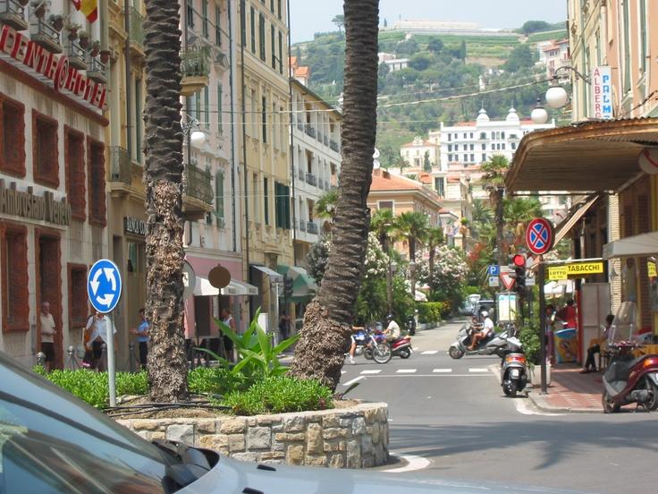 Saindo de Nice pernoitamos  em Ventimiglia- Itália. Maio de 2017.