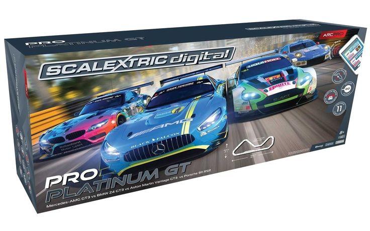 Scalextric Digital 1:32 ARC PRO PLATINUM GT Slot Car Set C1374T