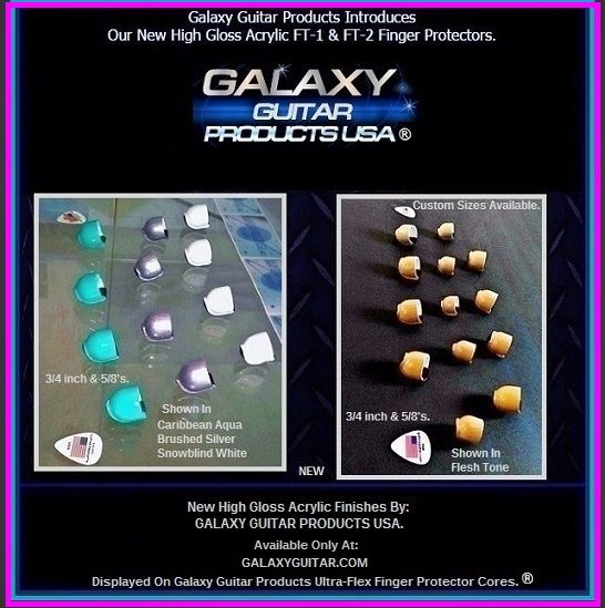 Galaxy Guitar Products - Galaxy Guitar FT-1 Finger Protectors