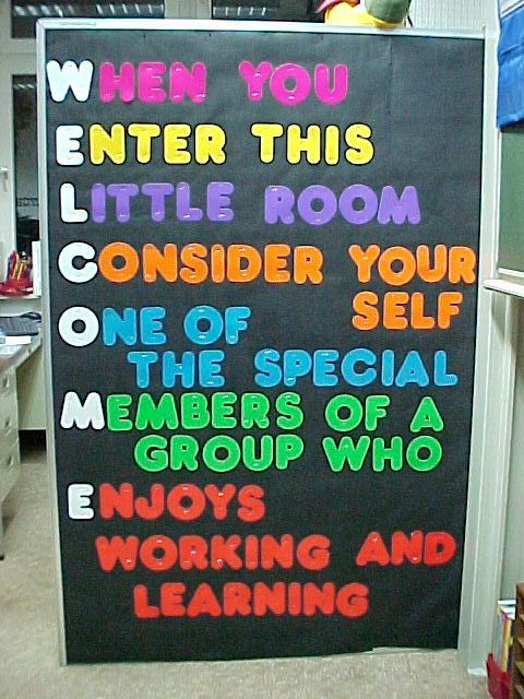 1000 Ideas About Welcome Door Classroom On Pinterest
