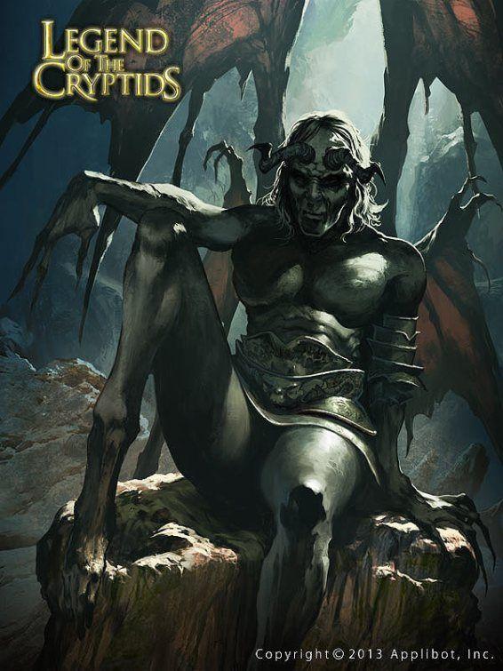 legend of the cryptids fantasyu monster illustration art graphic