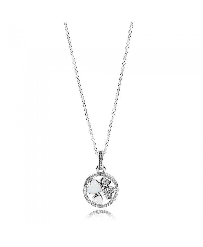 71f1820b8 Pandora Hearts of Love Necklace Sale | heart necklace | Pandora ...