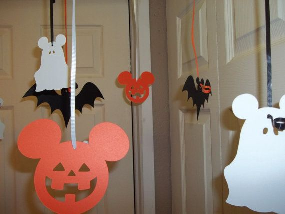 Mouse Halloween Ceiling Decorations by MonarchPaperCreation, $8.99