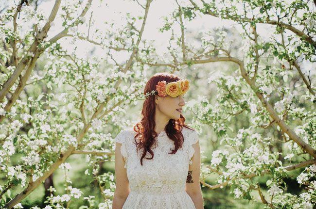 Australian Apple Orchard Wedding: Lauren + Glenn by Samm Blake
