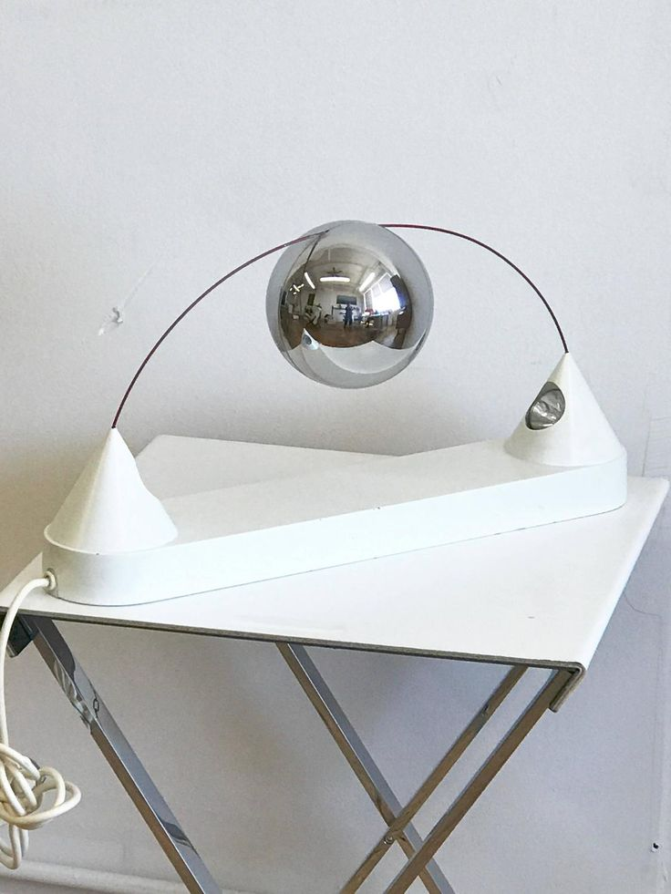 Mercurio Table Lamp Design Peppe de Giuli, Sirrah, 1971 | From a unique collection of antique and modern table lamps at https://www.1stdibs.com/furniture/lighting/table-lamps/