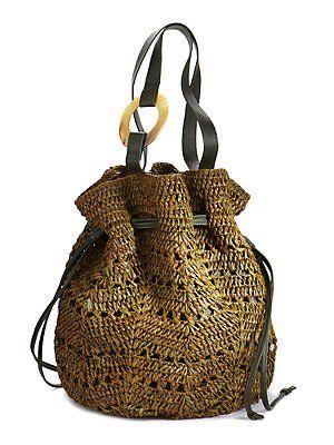 raffia bag. perfect for summer.