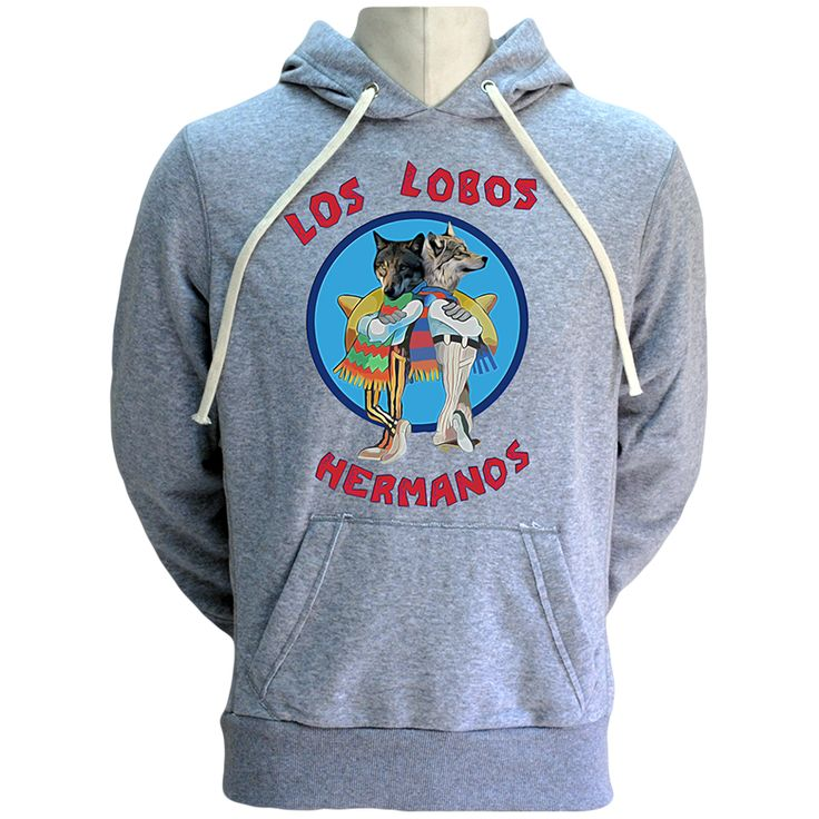 Los Lobos Hermanos Hoodie- WOLFISH WORKSHOP // Our #BreakingBad Tribute