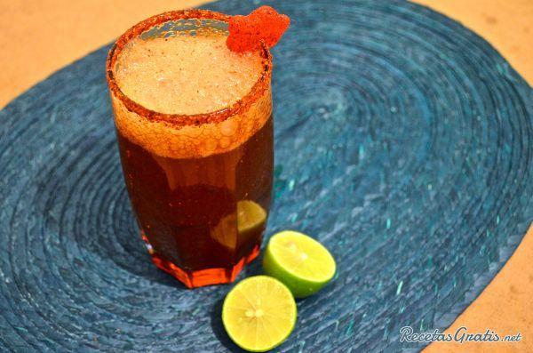 Michelada de tamarindo #RecetasMexicanas #ComidaMexicana #CocinaMexicana
