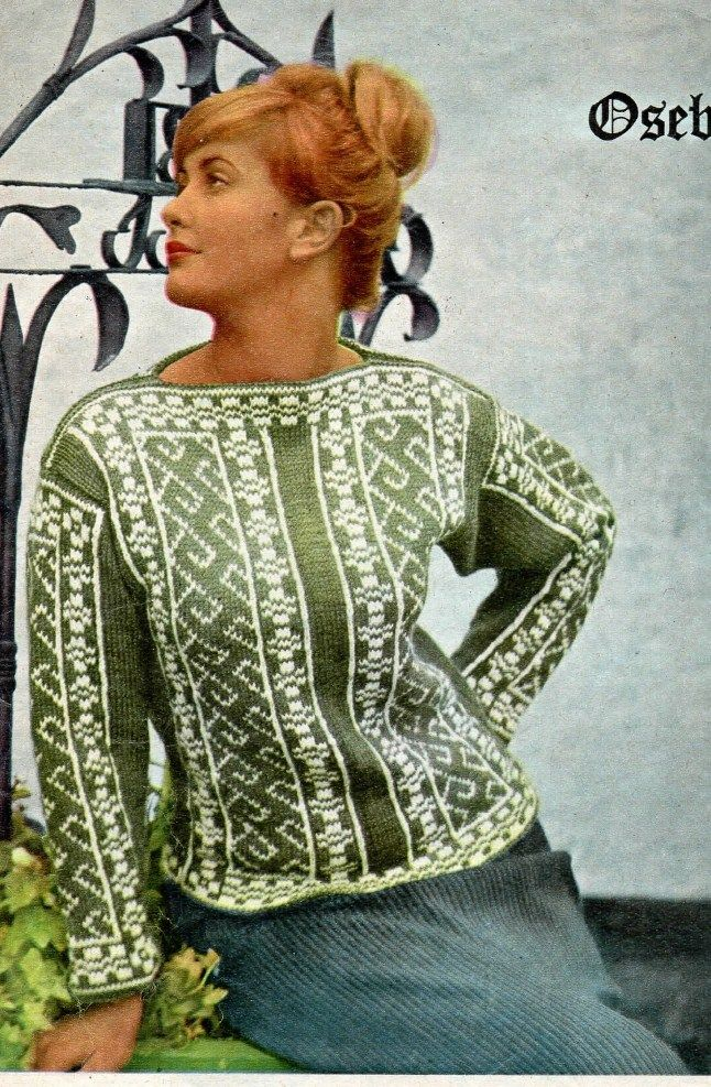 Knitting Nancy Vintage : Best norwegian vintage knitting images on pinterest