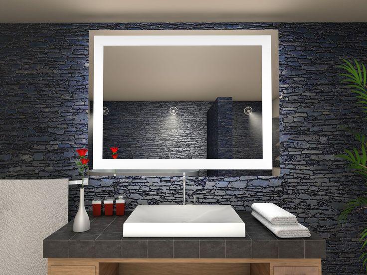 Trend Toulon Badspiegel mit LED Beleuchtung B cm x H cm