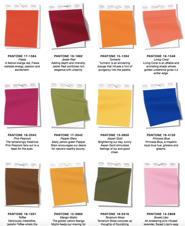 Pantone Colours Homify S Favourites For 2019: Pantone 2019: NY Fashion Week Spring/Summer 2019