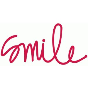 Cursive smile | Silhouette design, Letter to my daughter ...