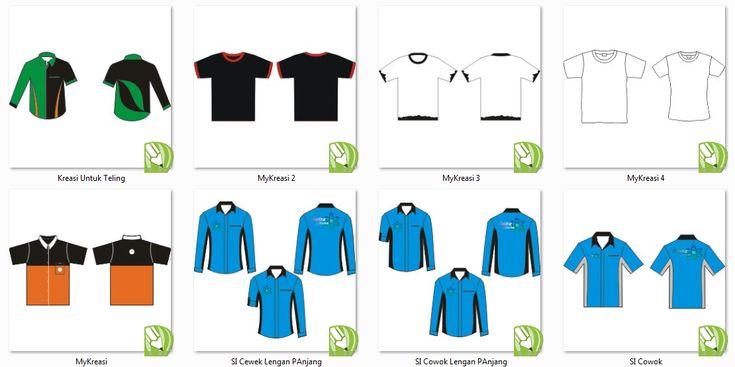 Download Cdr Kemeja Panjang Mockup Kemeja Desain Dan Kaos Download Draw Template Corel Cdr Kemeja Desain