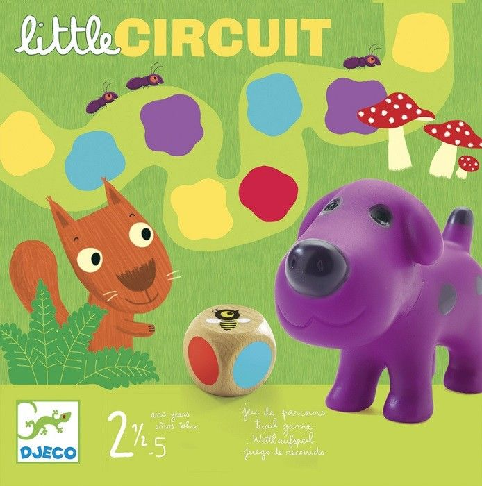 Djeco - Game Little Circuit 2 Great way to keep My little man occupied on days when it's either too hot or wet! #EntropyWishList #PinToWin