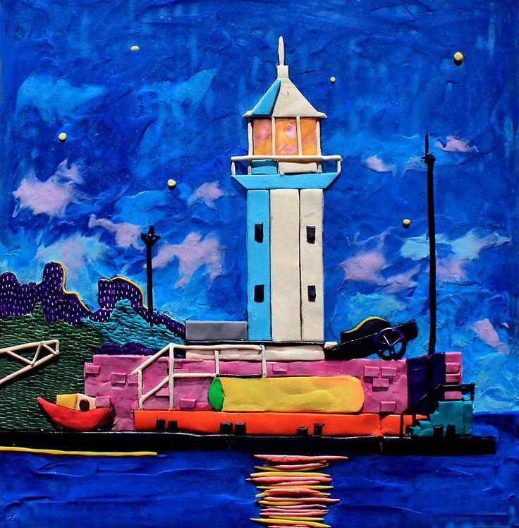 Crimean lighthouses on Behance