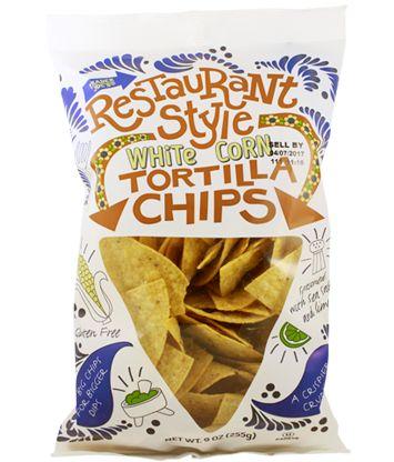 Restaurant Style White Corn Tortilla Chips   Trader Joe's $1.99   #traderjoes #Restaurant  #WhiteCorn #TortillaChips #chips