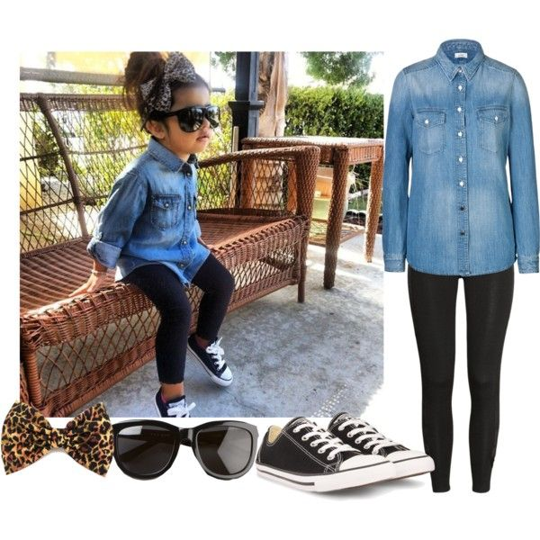 A fashion look from March 2014 featuring Closed tops, H&M leggings and Converse sneakers. Browse and shop related looks.