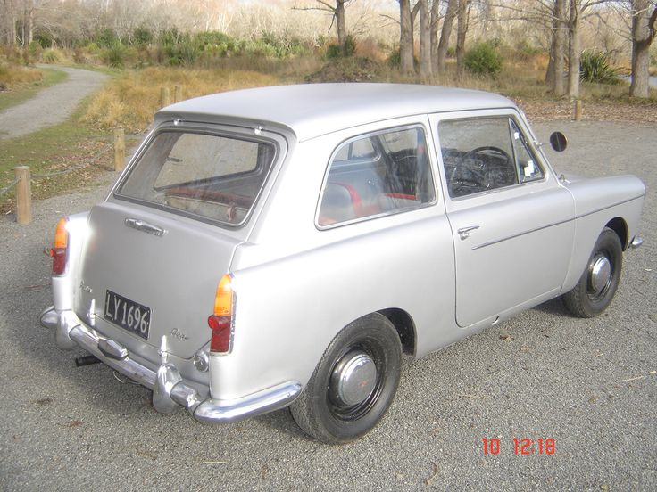 My Austin A40 farina, the first hatchback ever made