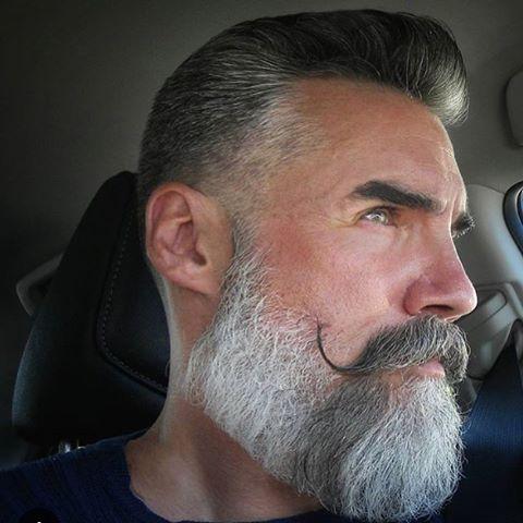 Mannequin homme barbu