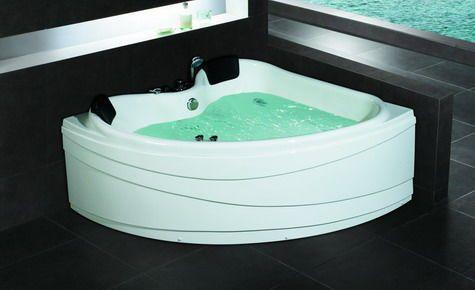 92 best id es d co salle de bain wc images on pinterest - Baignoire spa jacuzzi ...