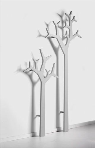 I reaaally like this coat tree idea, we will need something flat for the entrance by the garage, could mount on the wall.