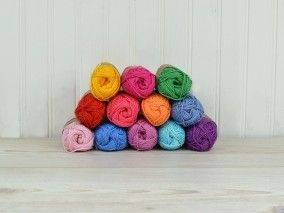 Scheepjeswol Catona – Bright Rainbow Colour Pack
