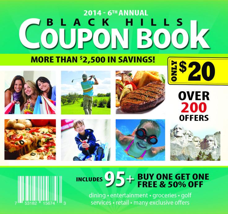 Black hills sd coupon book