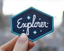 explorer patch...thought it said eggplant for a sec