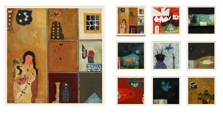 A NYOLCADIK TEMPLOM, Balint Endre (1914-1986) muveszete