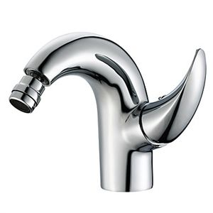 Bidet Faucets - Contemporary Brass Bidet Faucet - Chrome Finish